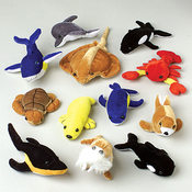 Plush Sea Animals