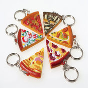 Pizza Key Chains