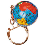 Metal Globe Key chains