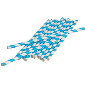 Paper Straws - Turquoise