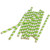 Paper Straws - Lime Green