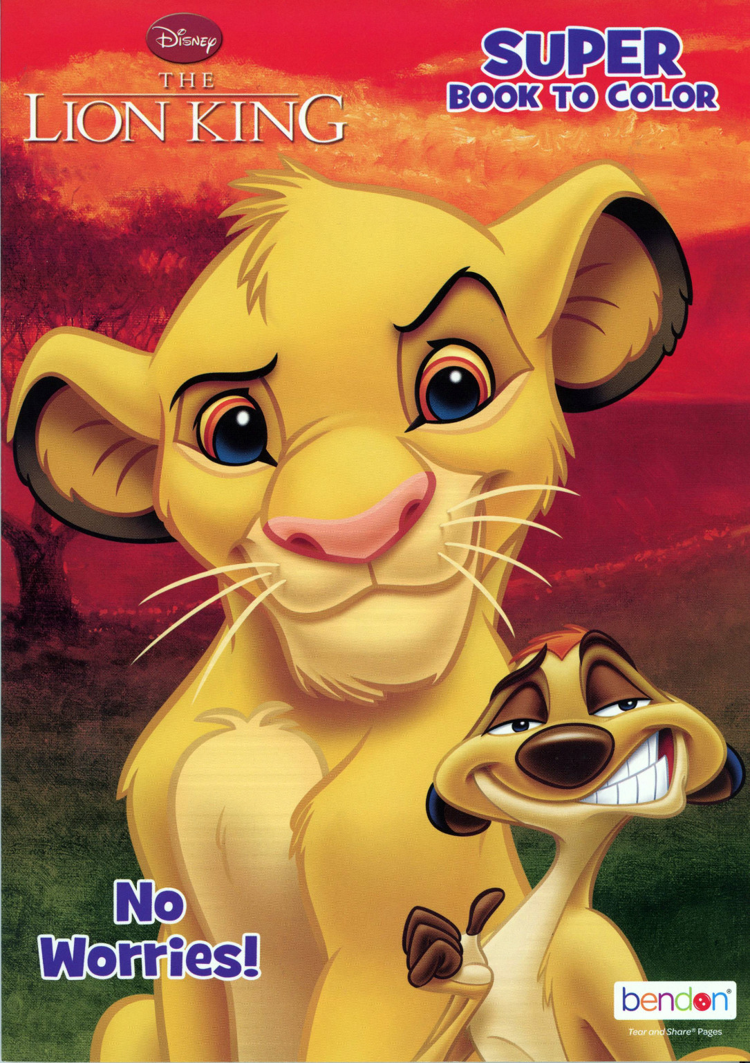 - Wholesale Lion King Coloring Book (SKU 2336640) DollarDays
