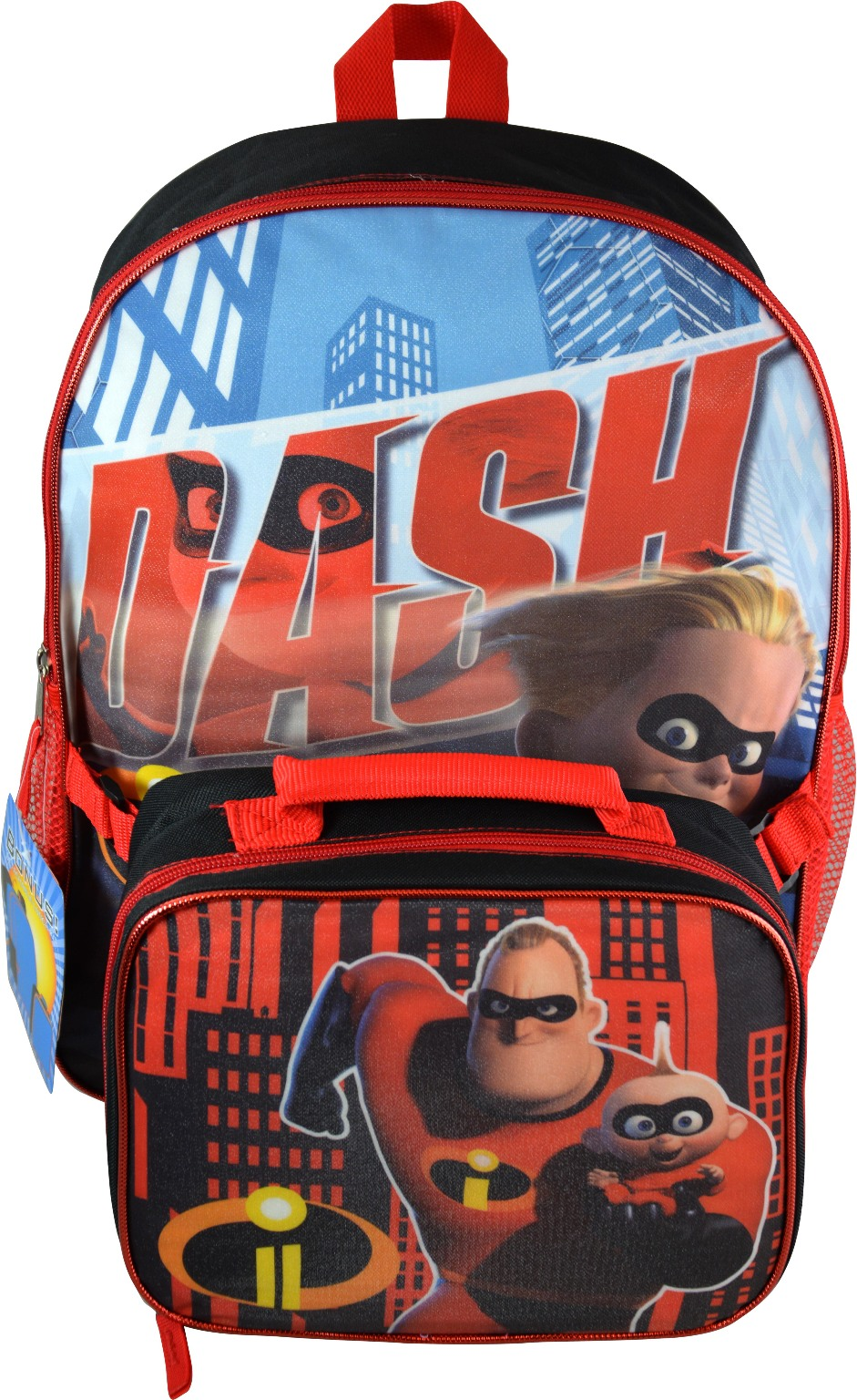 Wholesale Incredibles 16 Quot Backpack With Lunch Bag Sku