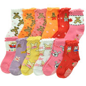 Angelina Baby Girl's Cotton Blend Socks - Size 12-24M