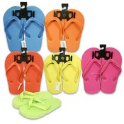 Kids Neon Sandals, 6 Assorted Colors