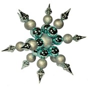 Wholesale Snowflake Ornaments - Glass Snowflake Ornaments