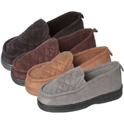 Men's Quilted Closed Back Slippers