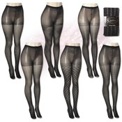 Isadora Textured Fashion Tights