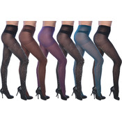 Isadora Shimmering Lurex Tights